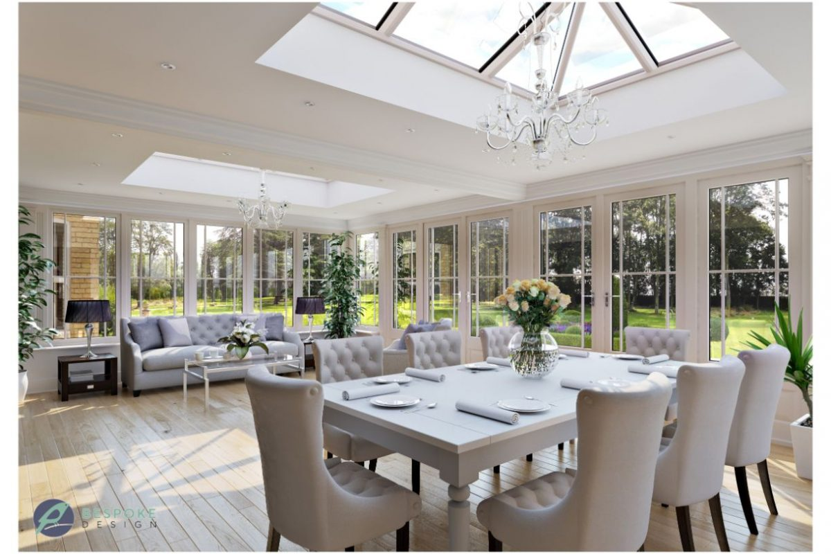 Traditional Orangery interior